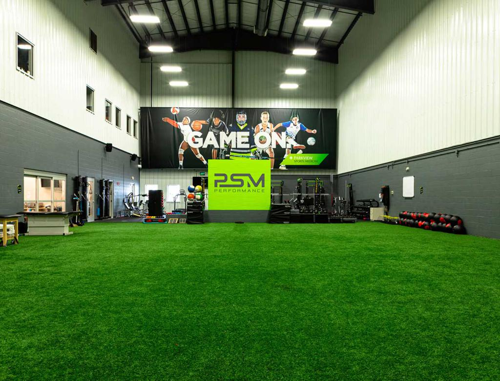 SportOne Parkview Fieldhouse Sports Performance Area