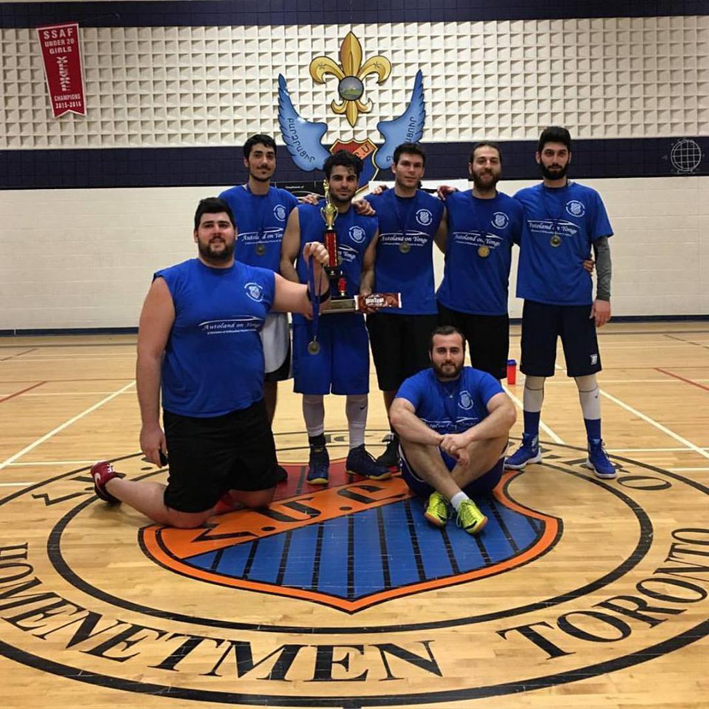 Homenetmen Toronto Intramural Basketball 2016 Champions - Anonymous
