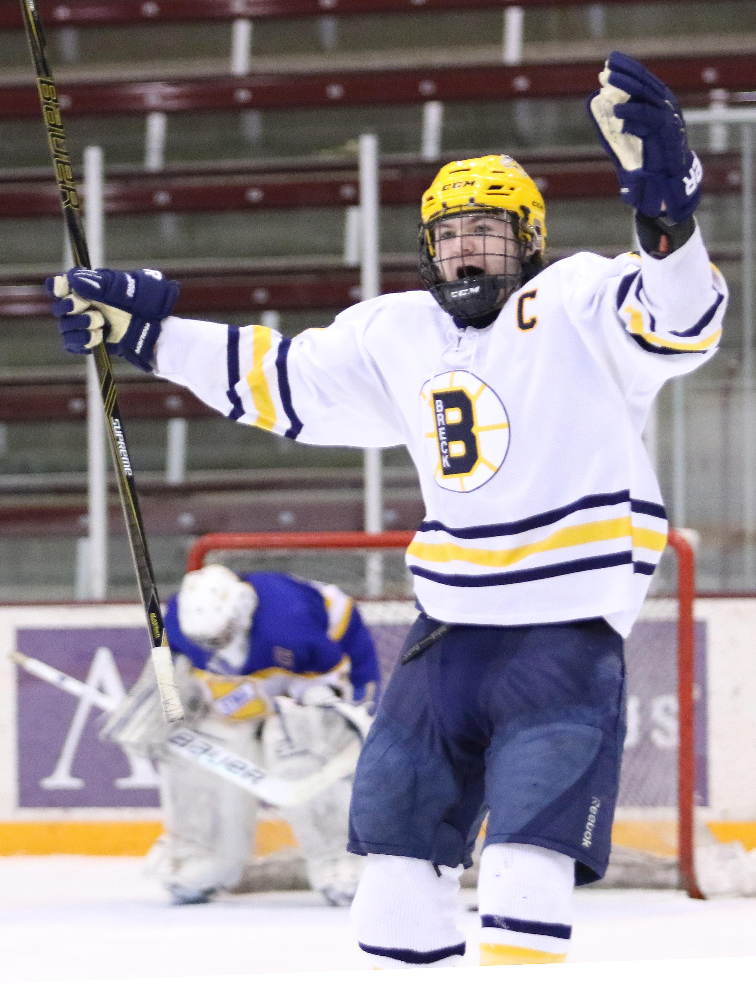 MN H.S.: Breck Draws With St. Michael-Albertville, Wins Shootout For The Schwan Cup Silver Division Title