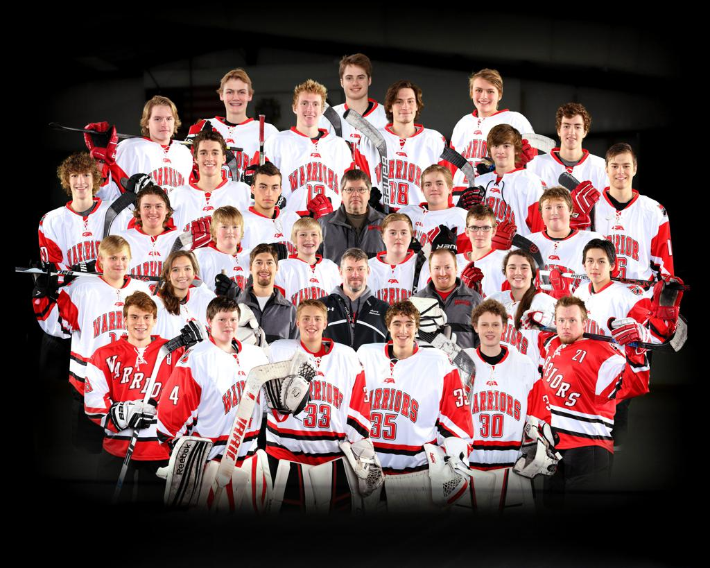 2016-17 Amery Warrior Hockey