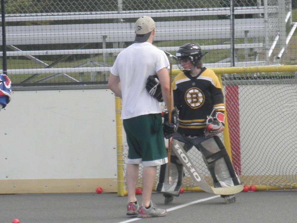Goalie Clinics | Photos | Bainbridge Roller Hockey League