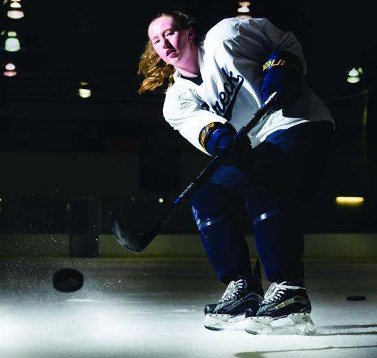 MN H.S.: Breck's Grace Zumwinkle Is Bringin' The Heat With Her Slapshot