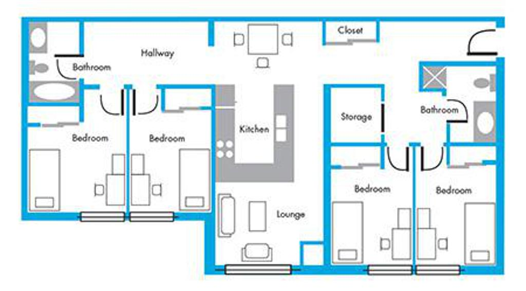 Resident Layout
