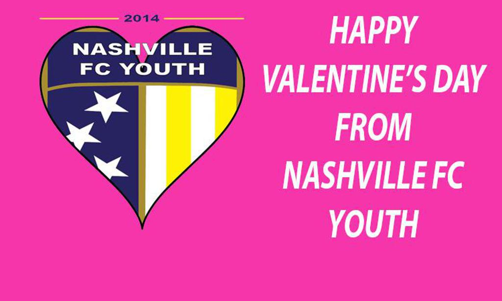 happy valentines day from nashville fc youth