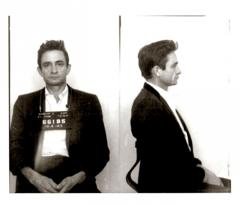 Johnny mug shot