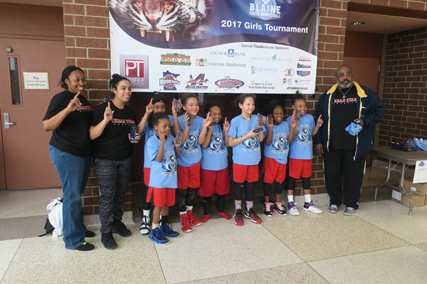 Urban Stars 4th Grade White 1st Place