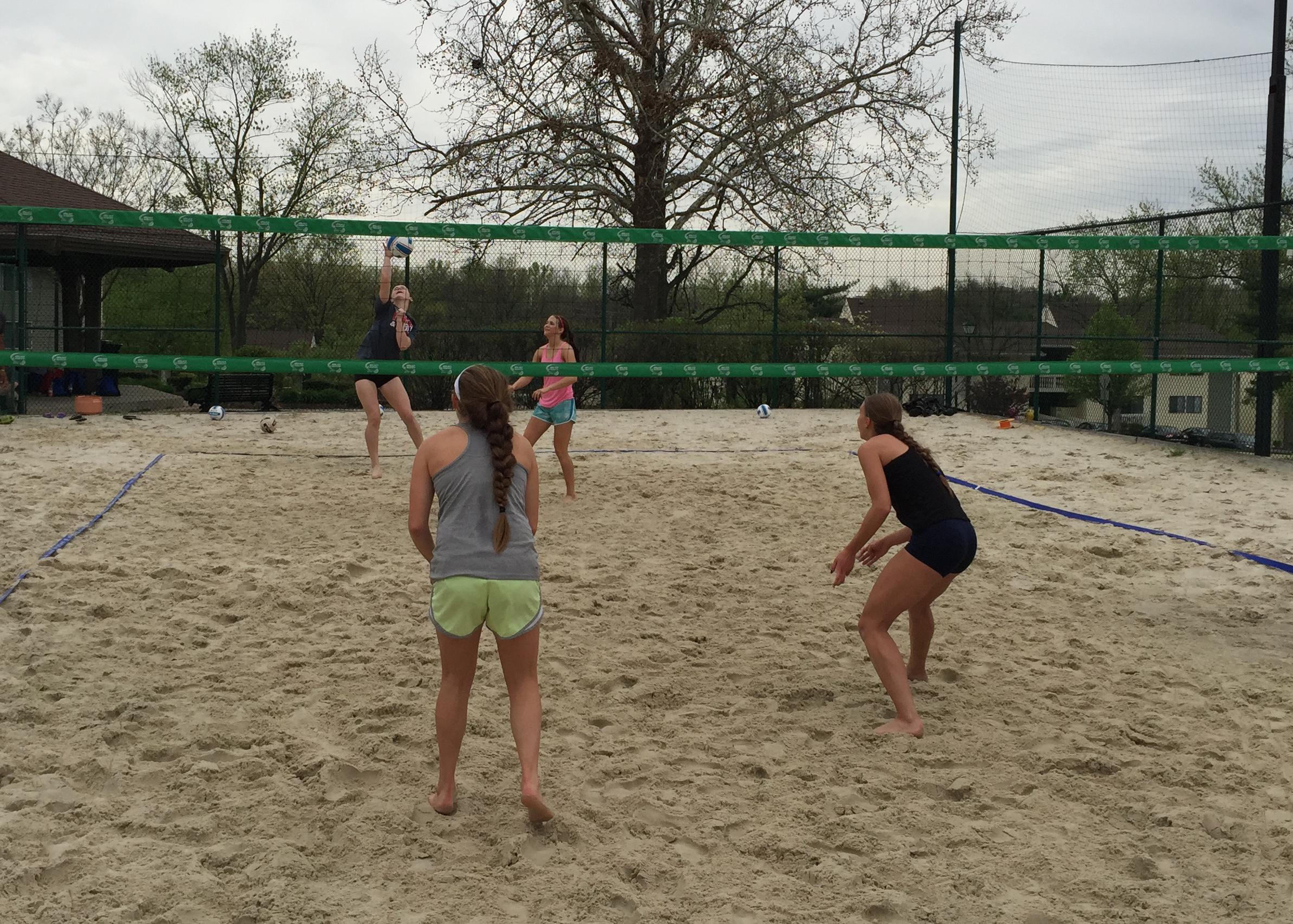 outdoor sand camps