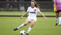 SIOBHAN COX PLAYING FOR STANFORD