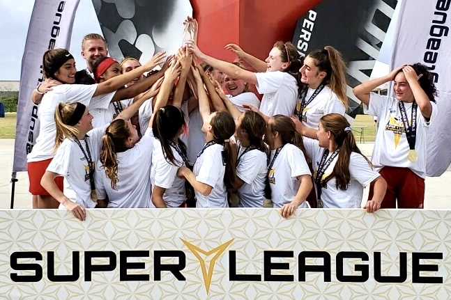u15 Girls 2019 Super Y National Champions