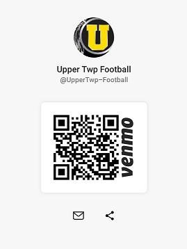 venmo link @UpperTwp-Football