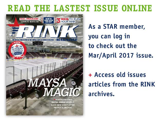 Read the latest digital edition of Rink Magazine!