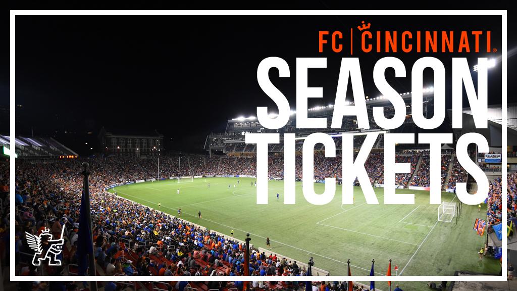 2017 FC Cincinnati Season Tickets