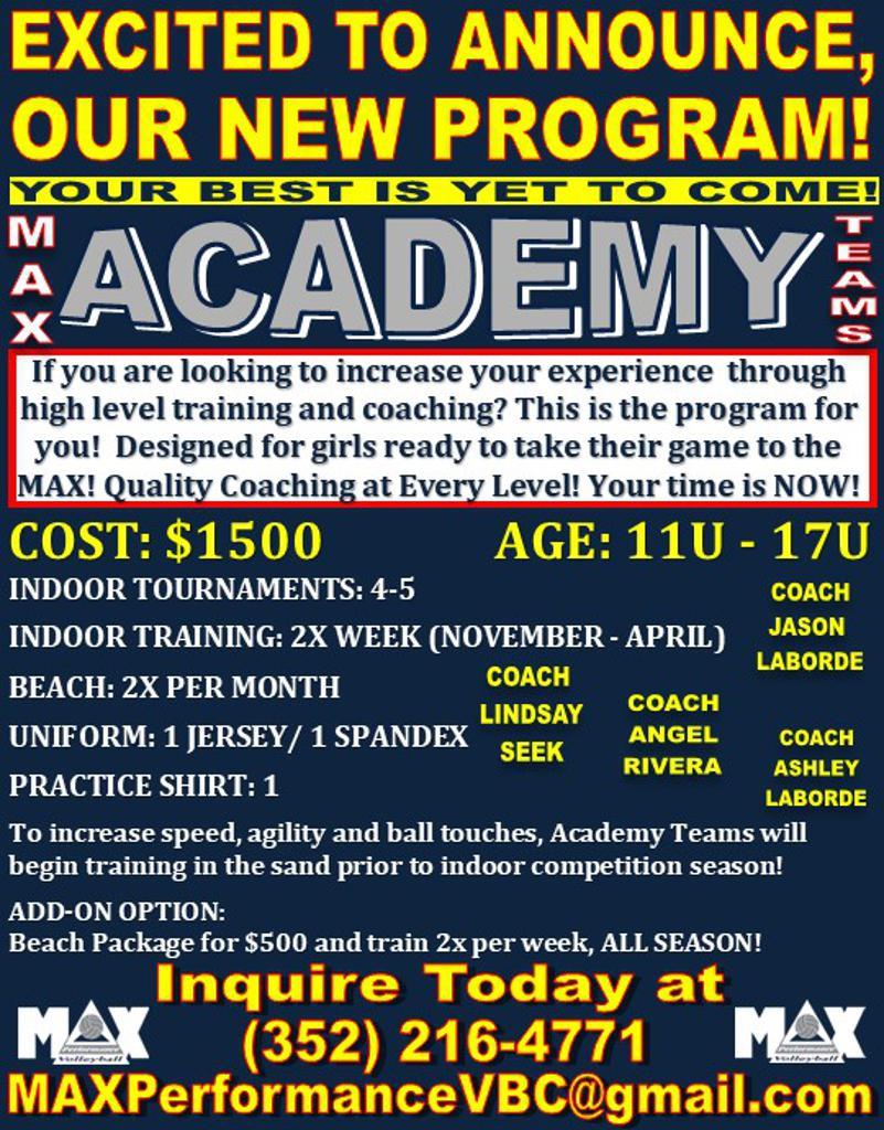 Academy Program