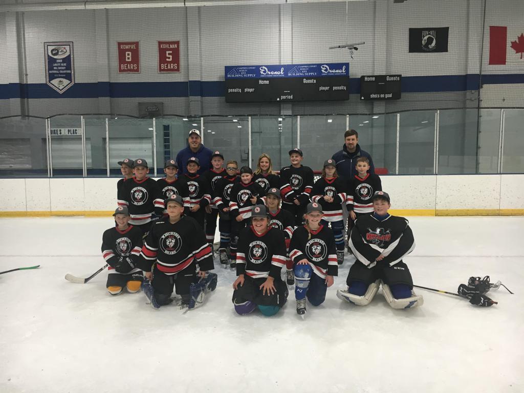 Black Bears Squirt Champions