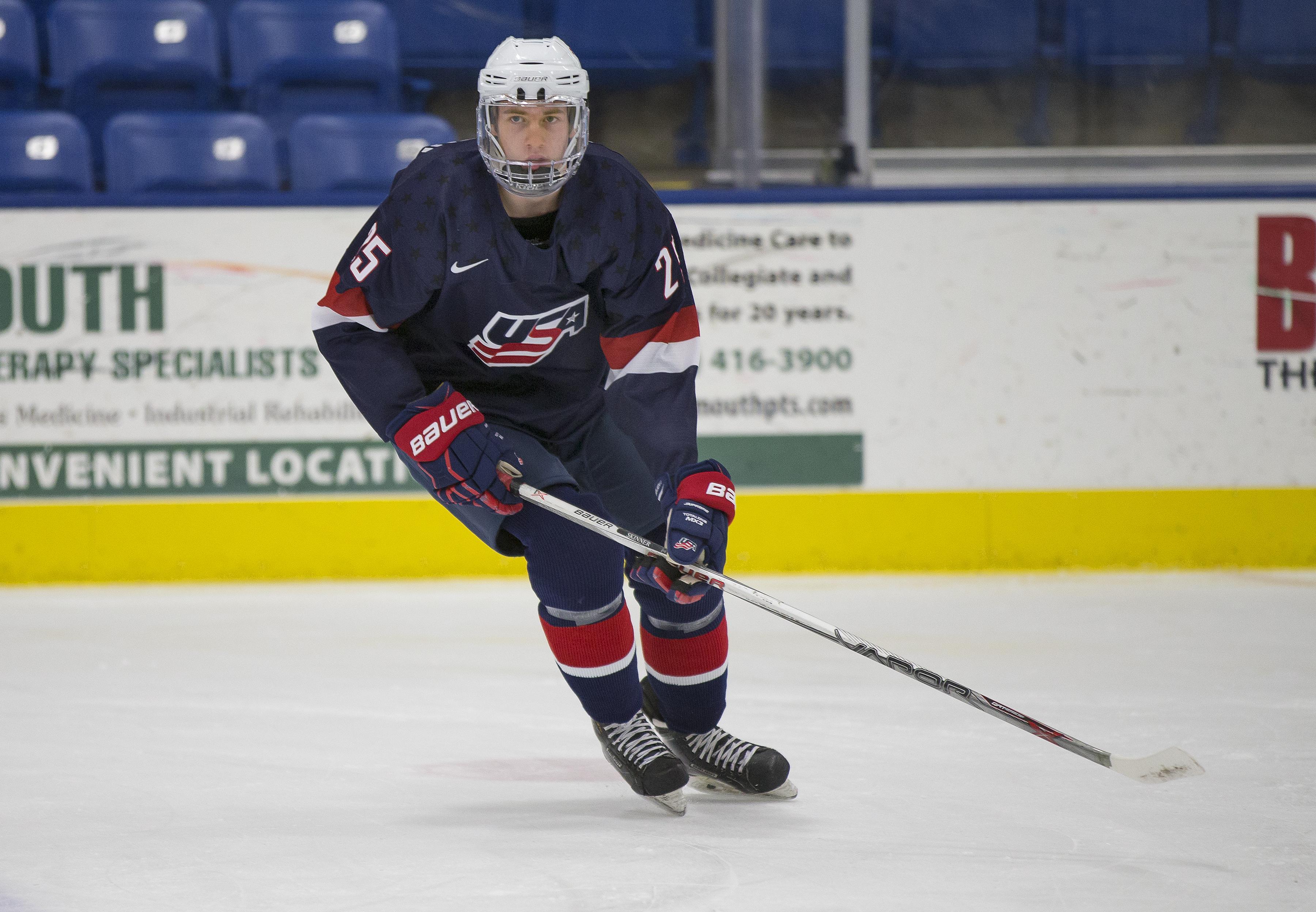USHL: Brind'Amour Tallies First League Goal; U17s Fall To Bloomington, 3-1