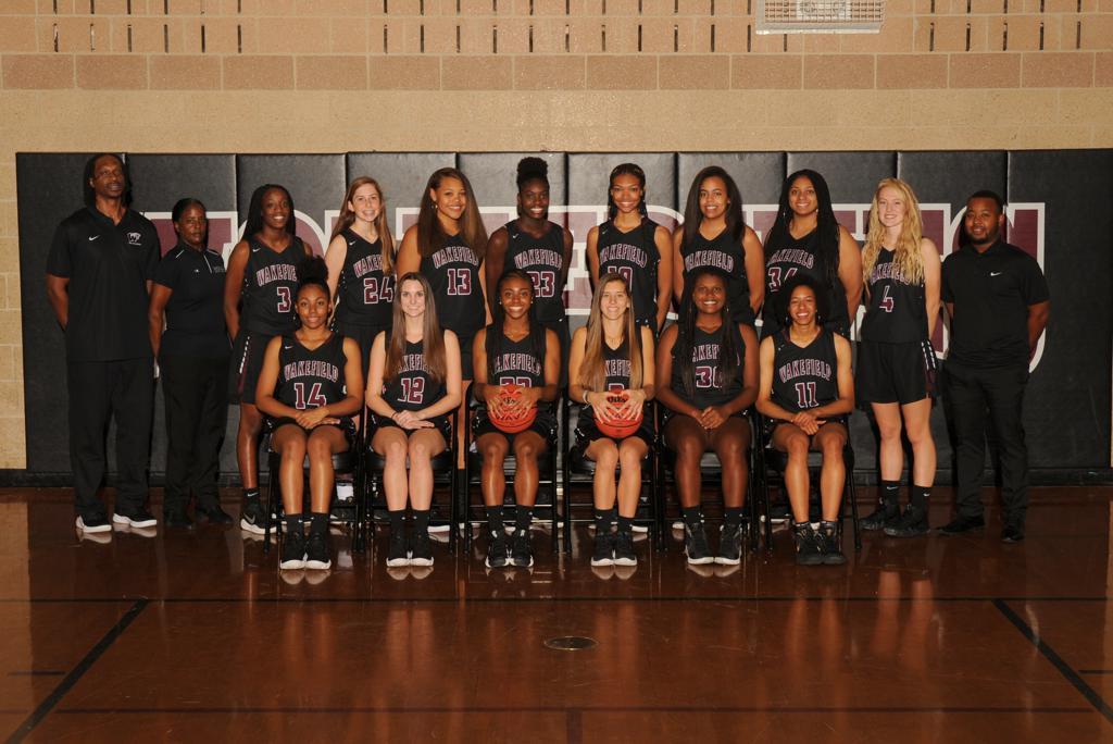 wakefield women's basketball team photo