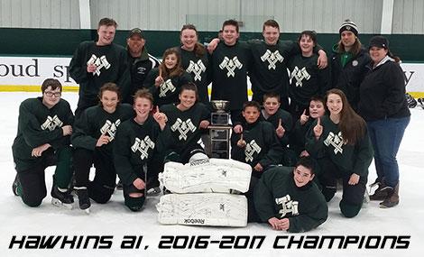 Hawkins A1, 2016-2017  Champions