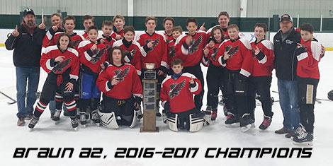 Braun A2, 2016-2017  Champions