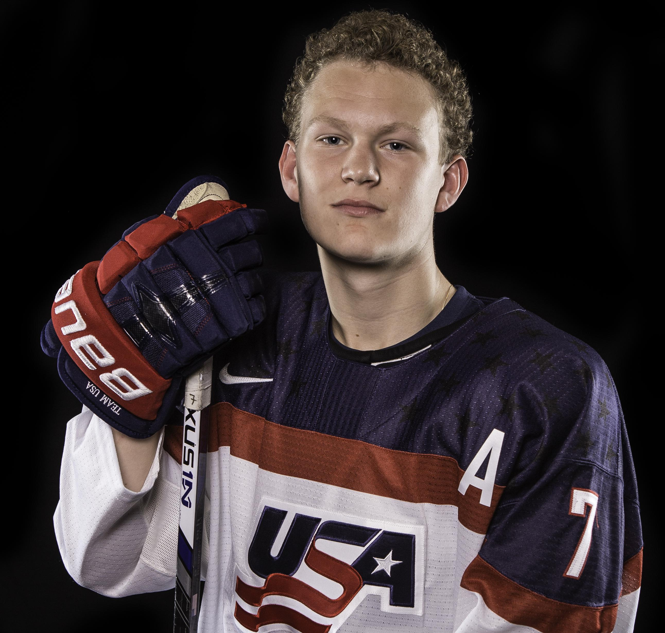7a014be89 Brady Tkachuk Keeps Under-18s Loose and Entertained