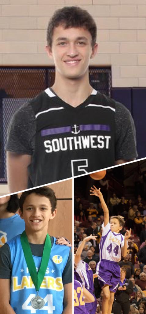 Finn Joshi Southwest Lakers Class of 2022  Mpls Lakers 2014-2018