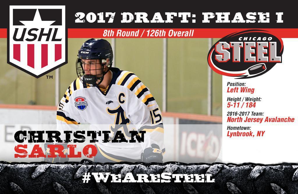 Chicago Steel 2017 USHL Draft Picks 201b1180970