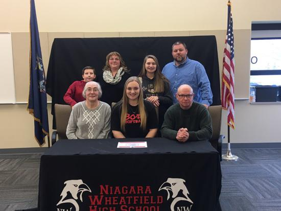 Mackenzie Quider signs with Edinboro University