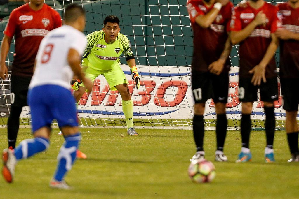 Goalkeeper Agustin Rey was named Man of the Match
