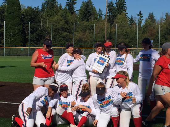 Washington Thunder Softball
