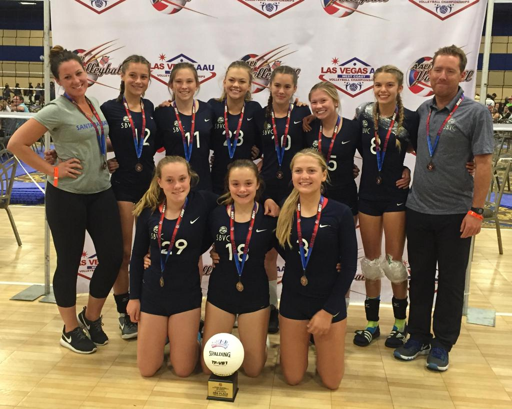 AAU West Coast Championships Recap - 14 Blue wins the Bronze!