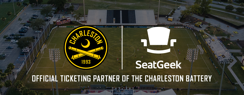 SeatGeek - the official ticketing provider of the Charleston Battery