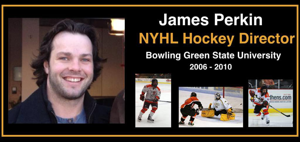 Hockey Director James Perkin, click pic for full bio