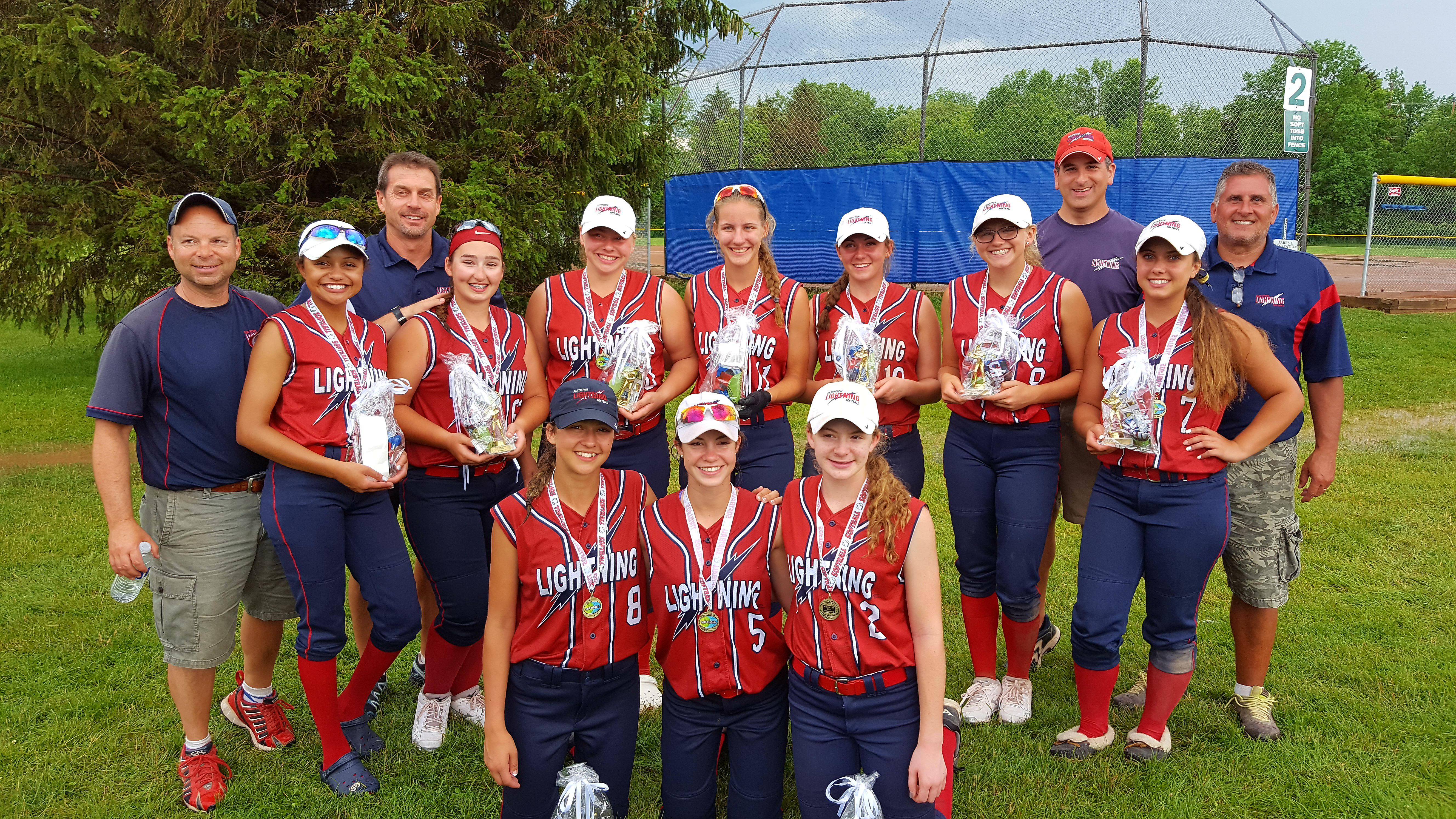 Lightning 16U wins USSSA Flower City Champiosnhip