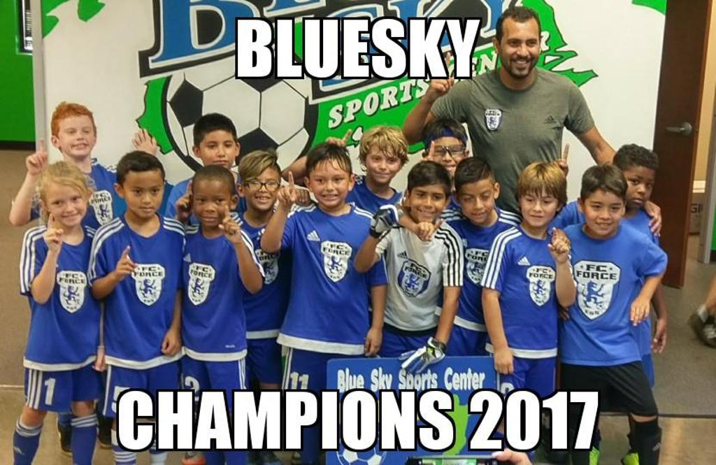 FC Force ESS 2008 boys winning Indoor Championship Summer l.