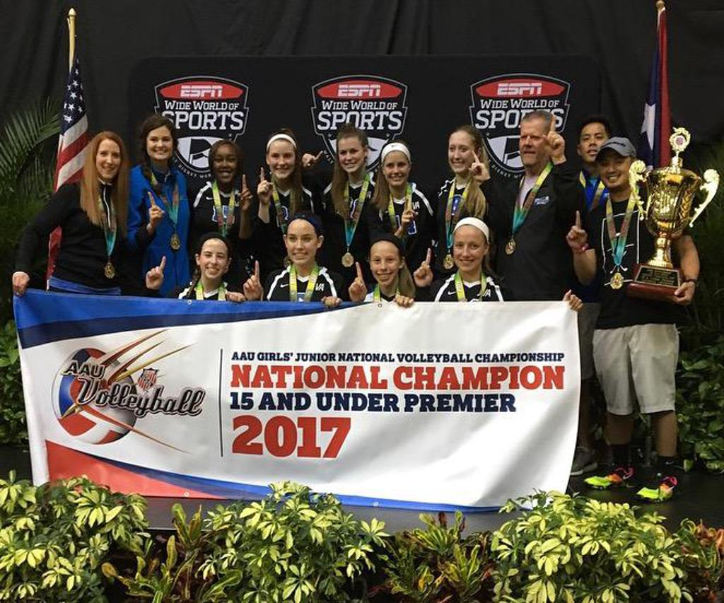 AAU 15Premier National Champions