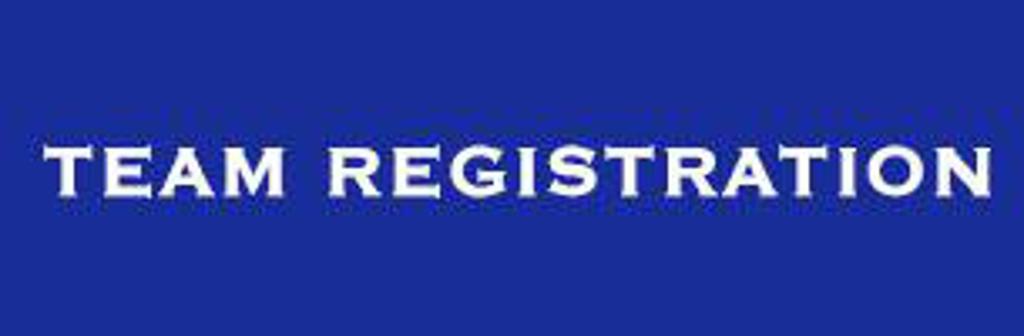 Team registrations...