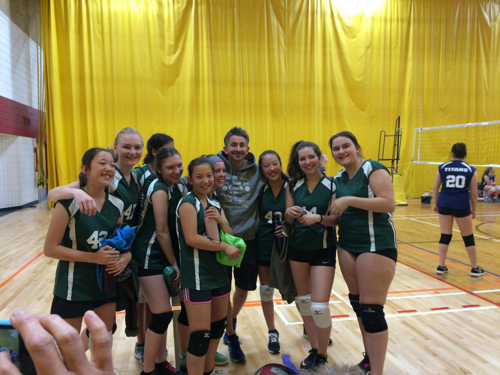 Girls youth volleyball league