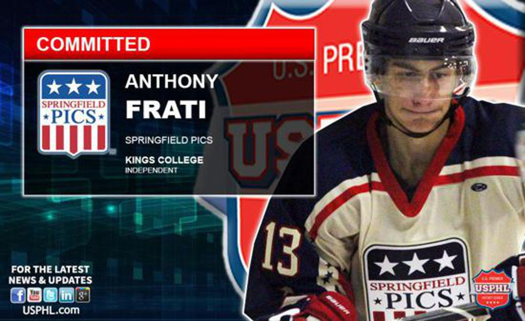 Anthony Frati commits to Kings College