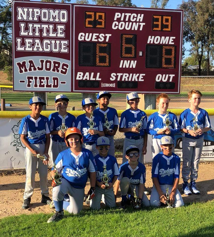 2018 NLL Minor Division 2nd Place - Dodgers