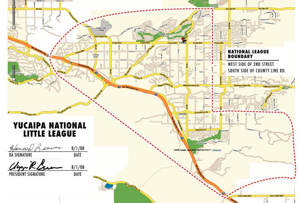 YVNLL Boundary Map