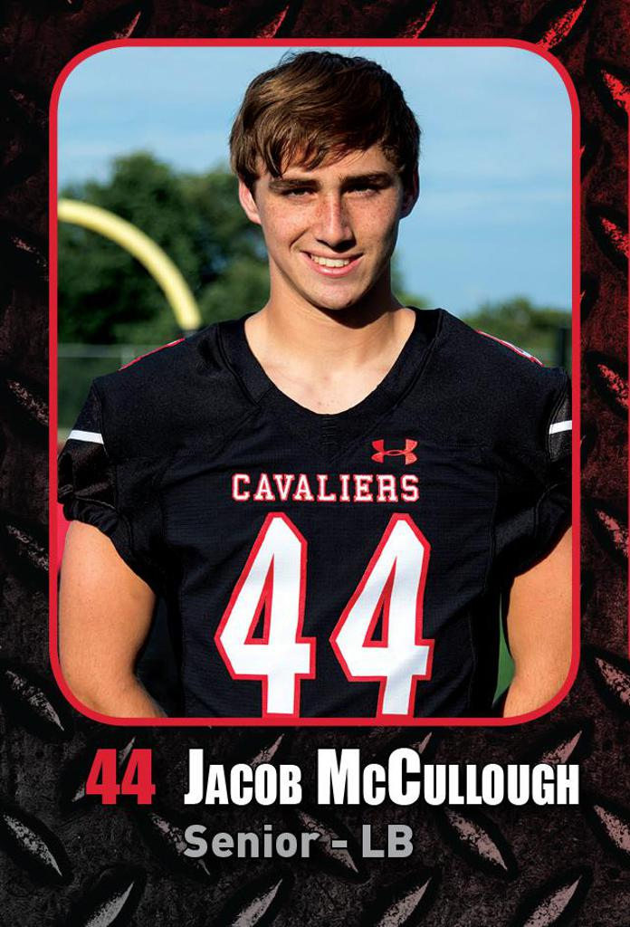 Jacob McCullough Lake Travis Football Flag Leader