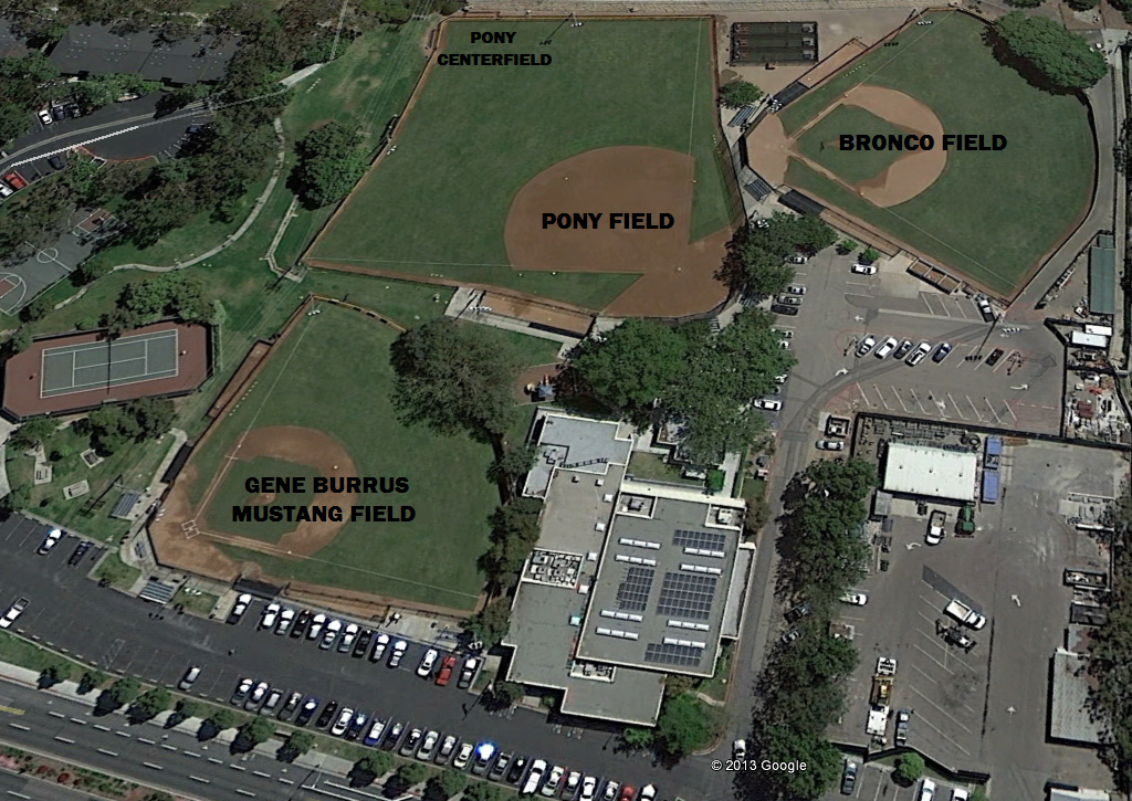 DPCC:  Dana Point Community Center - Baseball Fields