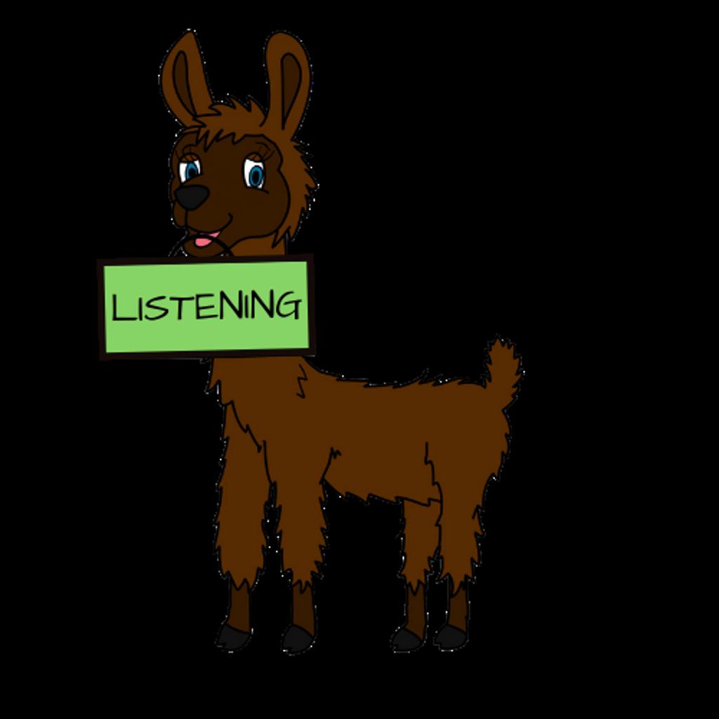 Lilly the Listening Llama