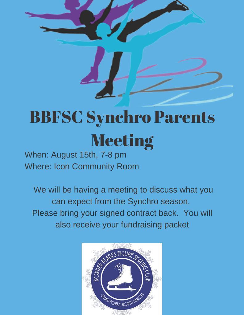 BBFSC Synchro Parents Meeting