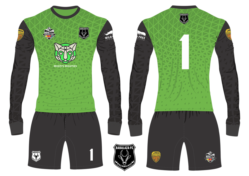 Babalaza FC Gazelles Goalkeeper Kit RCCL 2019