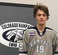 Bryce Cooper finished with 16 points in 23 league games last season for the Colorado Rampage's 15U Tier 1 team, Cooper Photo courtesy of Colorado Rampage