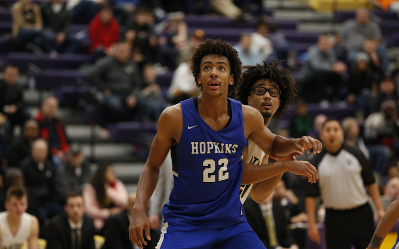 Hopkins, with its seven Class 4A titles, and DeLaSalle, with its seven titles from Class 2A and Class 3A combined, duel on Tuesday. Both teams are top-ranked in their respective class. Photo by Jeff Lawler, SportsEngine