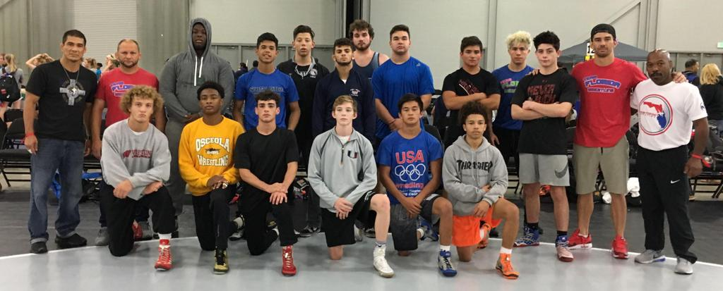 Team Florida Junior Mens Duals Team
