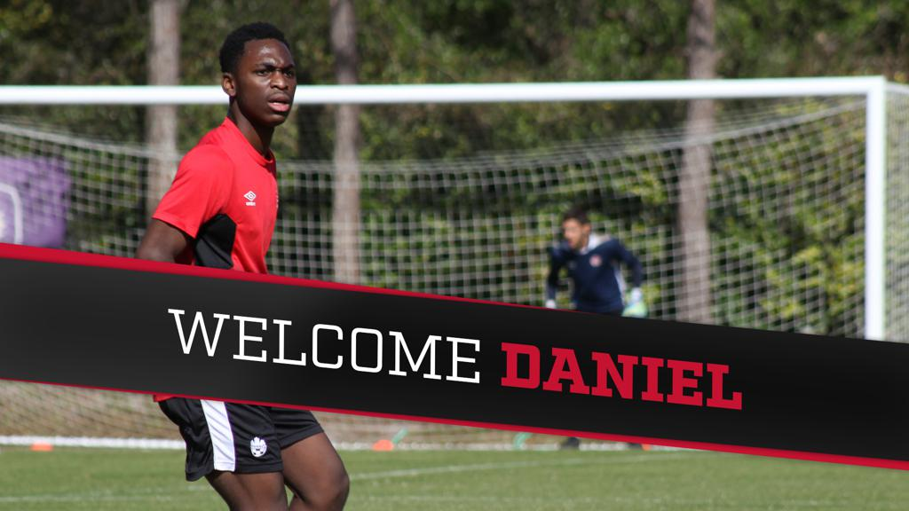 Welcome Daniel Kinumbe