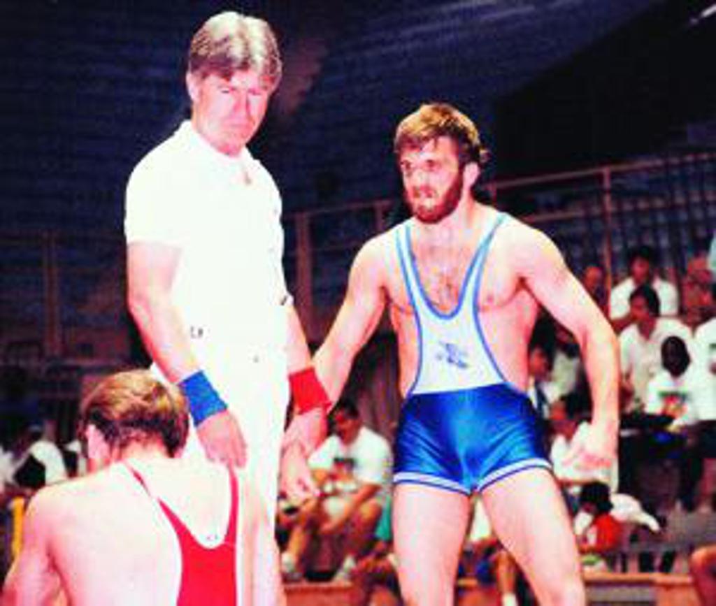 USA Wrestling Olympian - Ken Chertow
