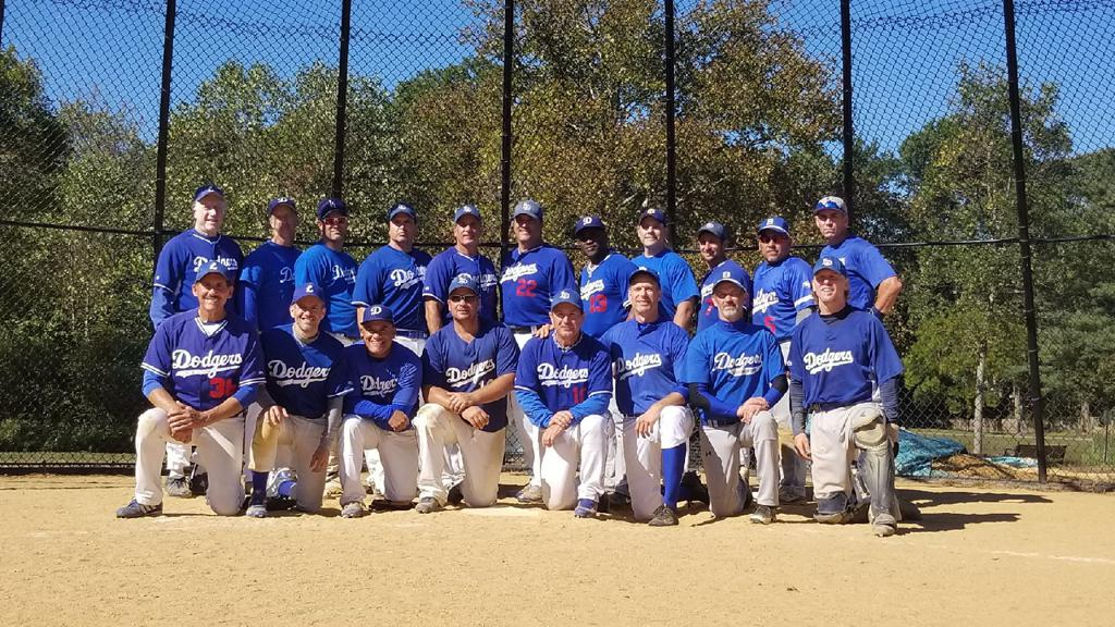 Livingston Dodgers - Over 38 AAA Champions